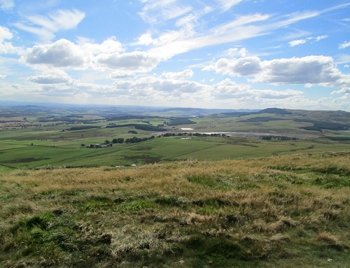 looking east from the East Lomond.