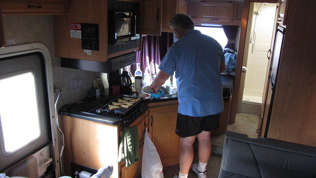IMG_2458 Ck making french toast in the rv
