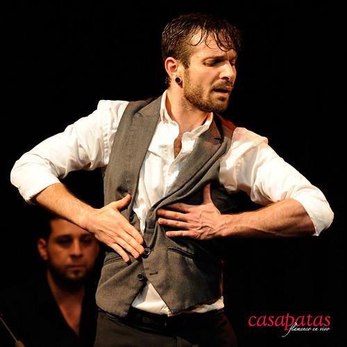 El bailaor gaditano Jesús Fernández. Foto: Martín Guerrero
