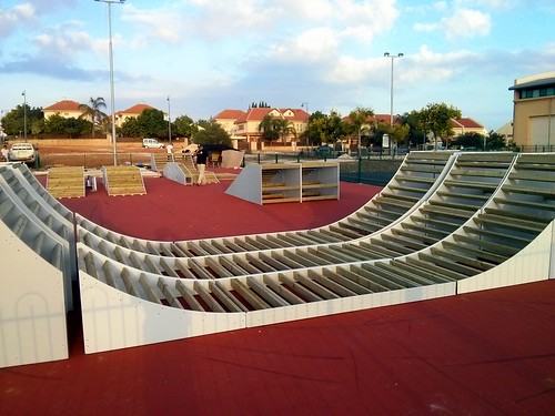 Kfar Yona's new skatepark