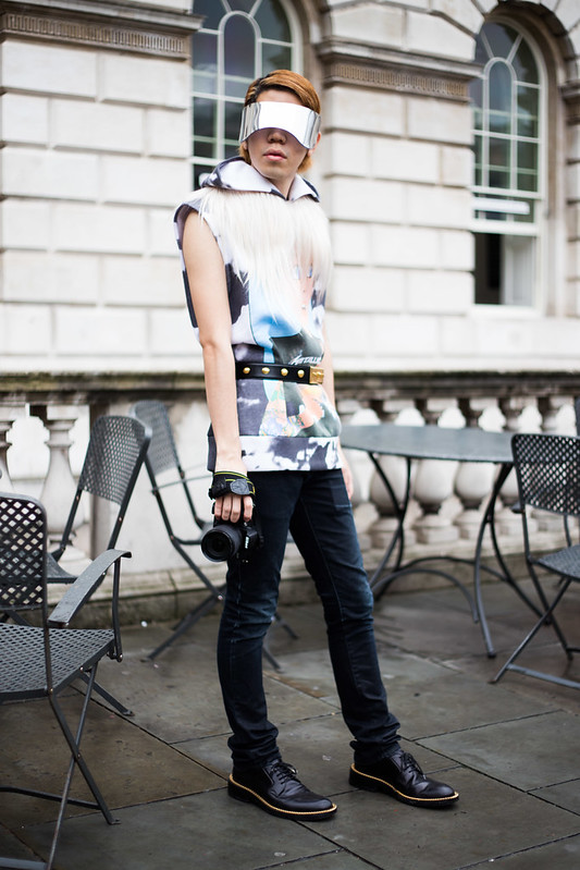 Street Style - Kaito, London Fashion Week