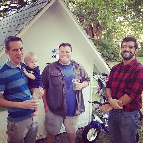 Robbie, Tim and Matt