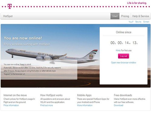 Online with Etihad