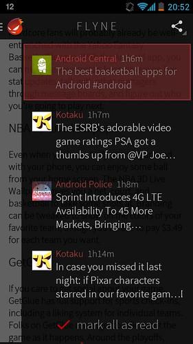 Flyne для Android