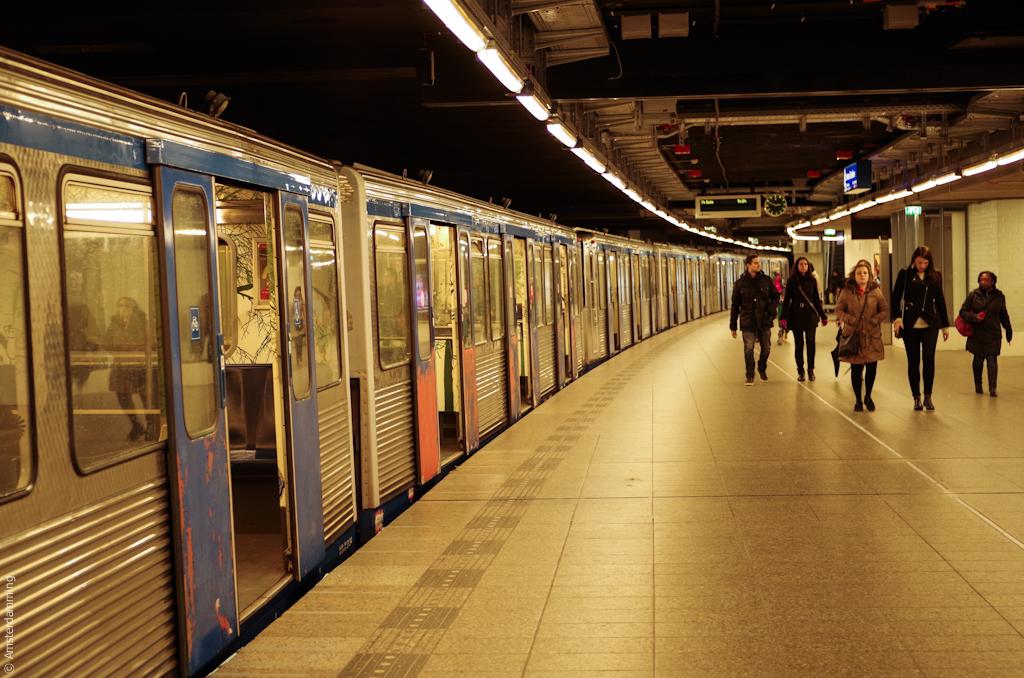 Amsterdam, Metro