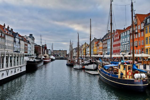 0370 - Denmark, Copenhagen, Nyhavn HDR