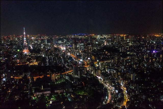 Mirador de la Torre Mori en Roppongi Hills