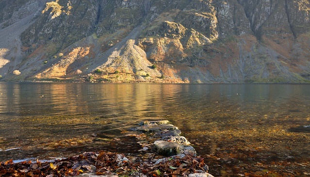 Wastwater Autumn light