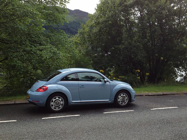 VW Beetle Coup - Scotland Roadtrip