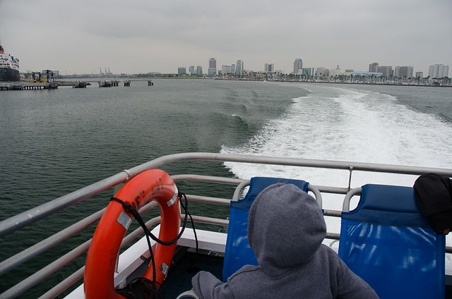 Leaving Long Beach on the Catalina Express
