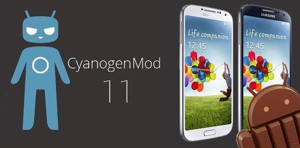 CyanogenMod 11 для Galaxy S4