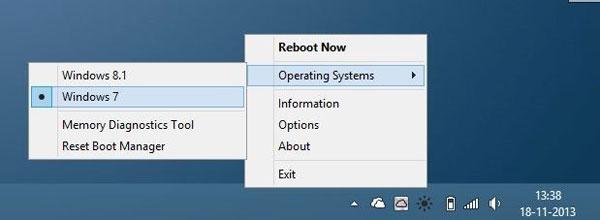 двойная загрузка Windows 8/8.1 и Windows7