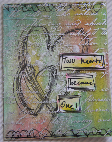 """Two Hearts"" Project Life Card"