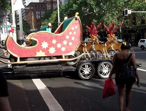 Cycle sleigh