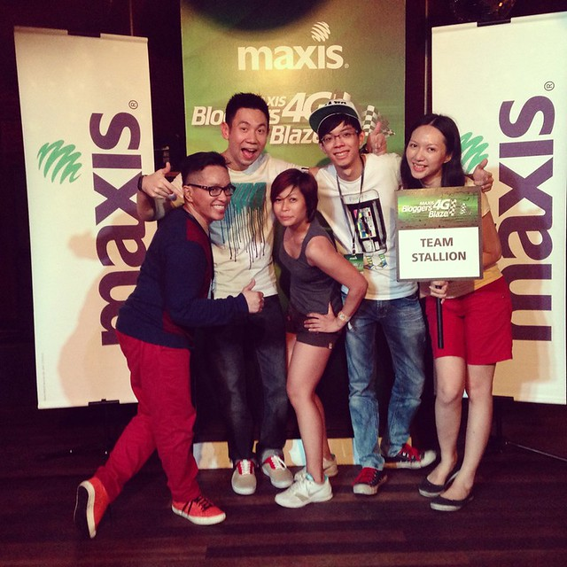 Maxis 4G LTE Bloggers Blaze - Stallion - my Winning Team-009