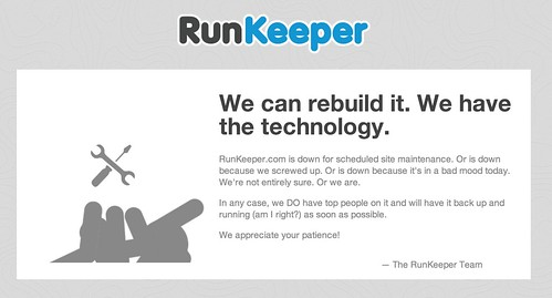 Runkeeper Down