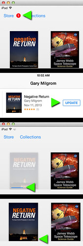NEGATIVE RETURN UPDATE iOS7