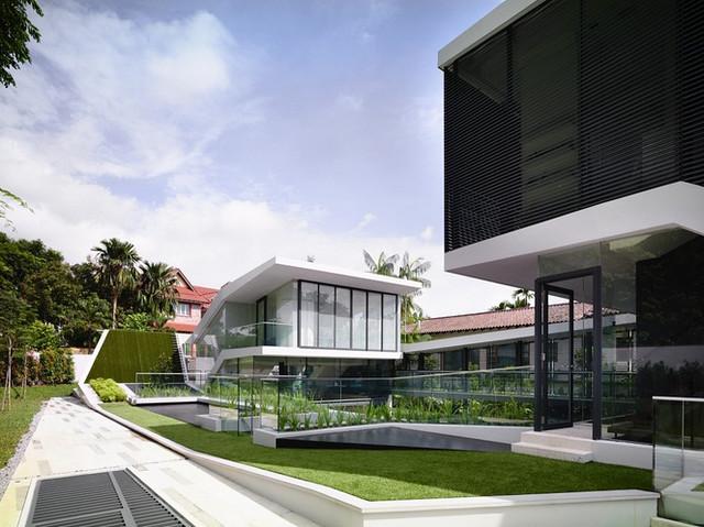 11557488324 66a547c659 z Thiết kế ngôi nhà trên đường Andrew/ Hãng a dlab