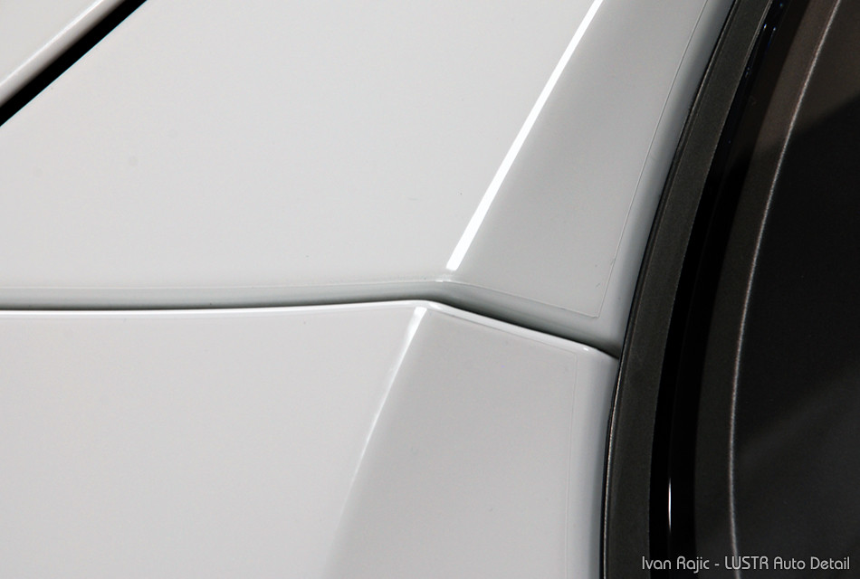 properly installed paint protection film (PPF)