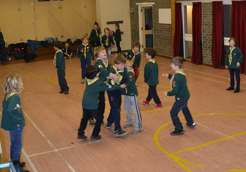Pencaitland Cubs are now based in Pencaitland Primary School Gym Hall for regular Thursday activities.