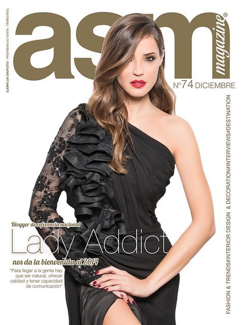 Lady addict portada ASM con pendiente Gemmasu