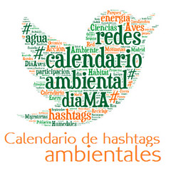 Calendario de hastaghs ambientales 2014