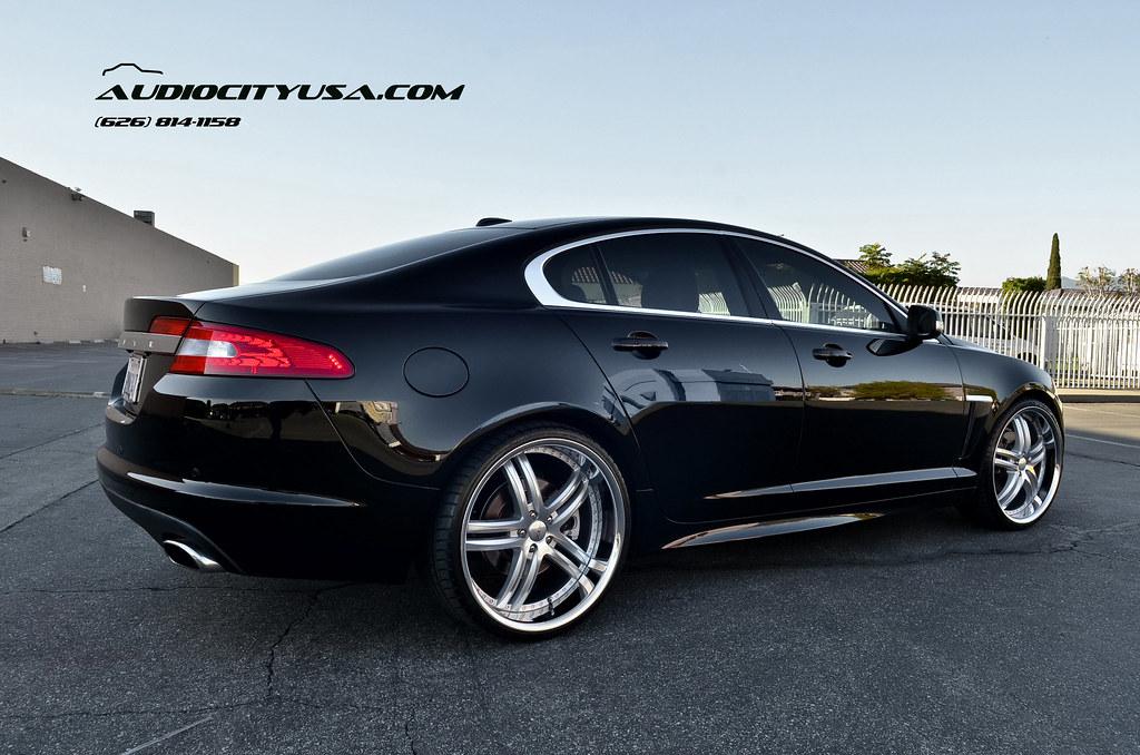 "2012 Jaguar XFR - Supercharged on 22"" XIX X 15 Silver ..."
