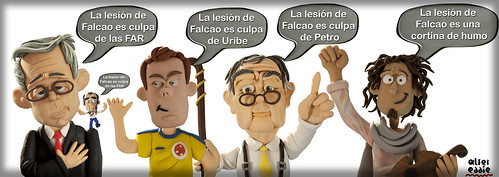 La lesión de Falcao by alter eddie