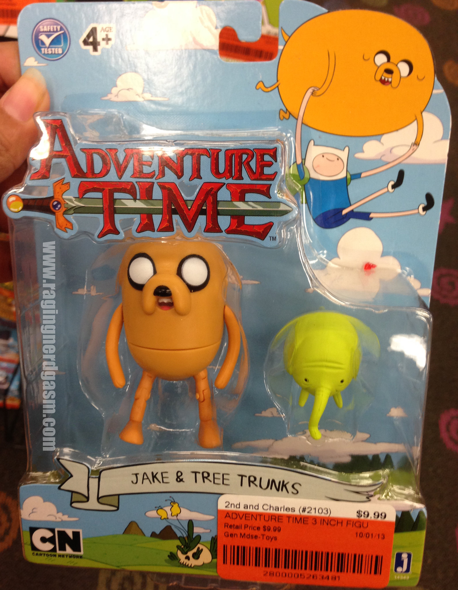 Adventure Time Figures series 3 - Jake and Tree Trunks