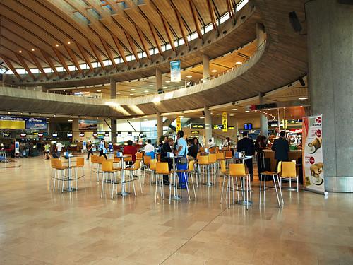 Coffee kiosk, Tenerife Norte Airport, Tenerife