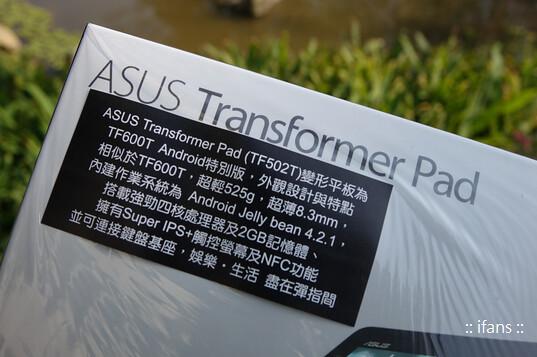 Transformer Pad TF502T