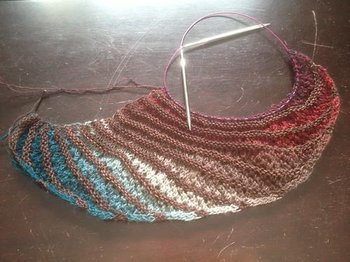 Nymphalidea shawl