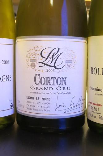 2006 Corton Blanc, Lucien Le Moine