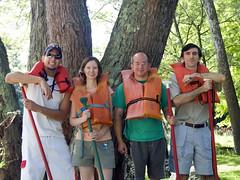 2009-08-13 - Bellbrook - Paliy Lab canoe trip