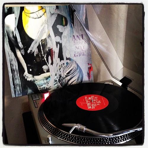 #sundaymorningsounds #sogoodtobehome #nowspinning #vinyloftheday #vinyligclub #recordsmakethebestgifts #anidifranco #notaprettygirl #rbr #clubrpm #photographicplaylist by Big Gay Dragon