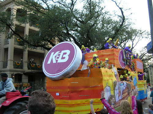 K&B float