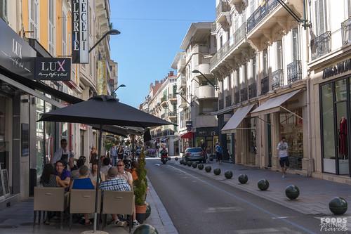 Rue d'Antibes, Cannes, Cote d'Azur France