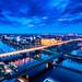 Blaue Stunde über Bremen by jonasginter