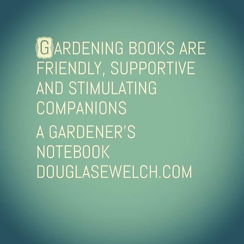 Gardening Books are...