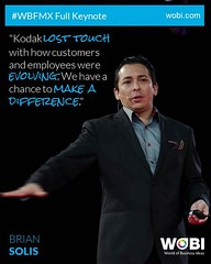 Brian Solis at WOBI, Mexico City