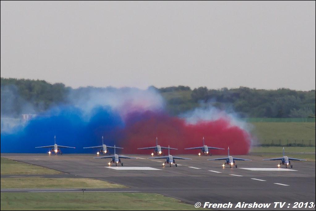 Patrouille de France,Salon du Bourget 2013,Paris Airshow 2013