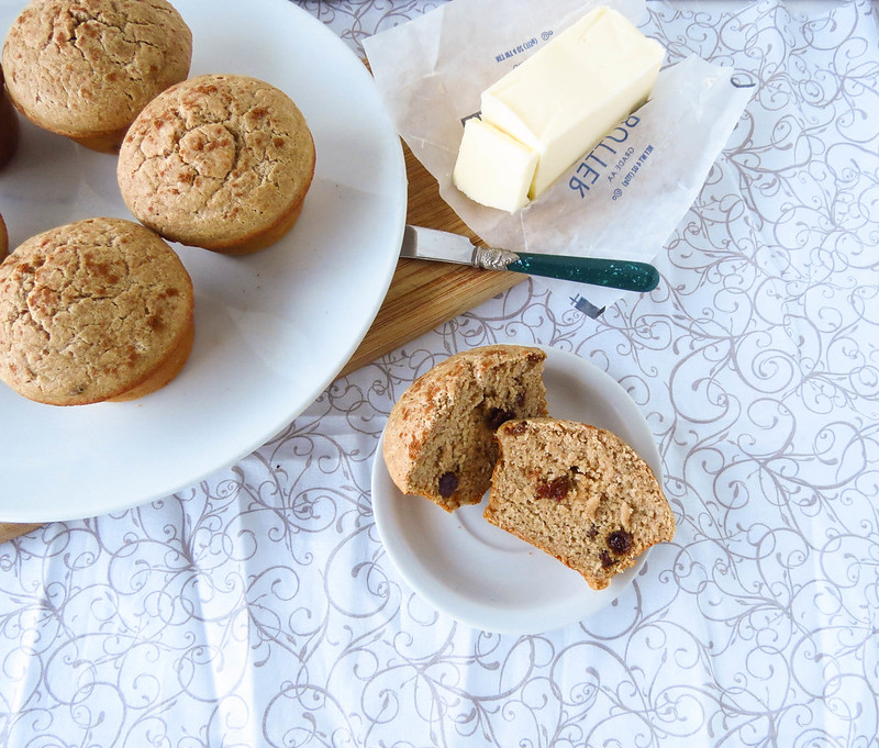 Cinnamon-Raisin Muffins