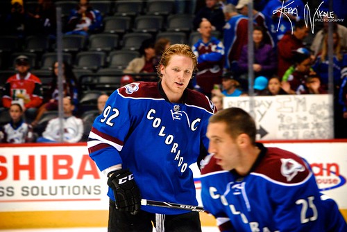 Avs vs Ducks - Gabe Landeskog