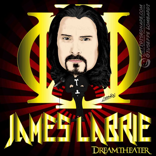 James Labrie by Giuseppe Lombardi