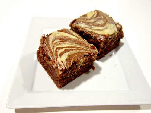 Irish Cream Cheesecake Swirl Brownies