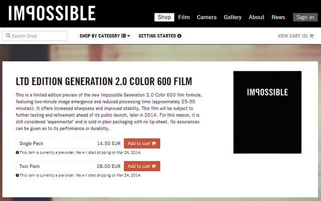 Film 2.0 Impossible