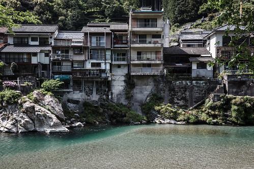 japan river 日本 kochi 高知県 吾川郡