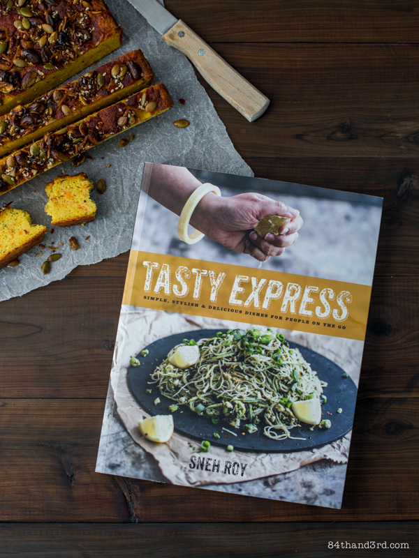 Indian Sour Chickpea Corn Bread from Tasty Express