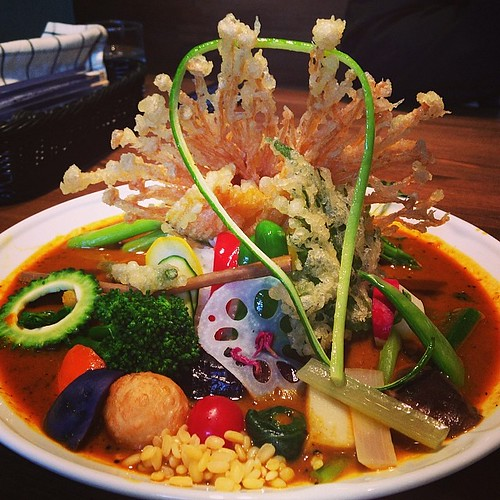 これはもうアート。野菜カレー#mitaka#curry