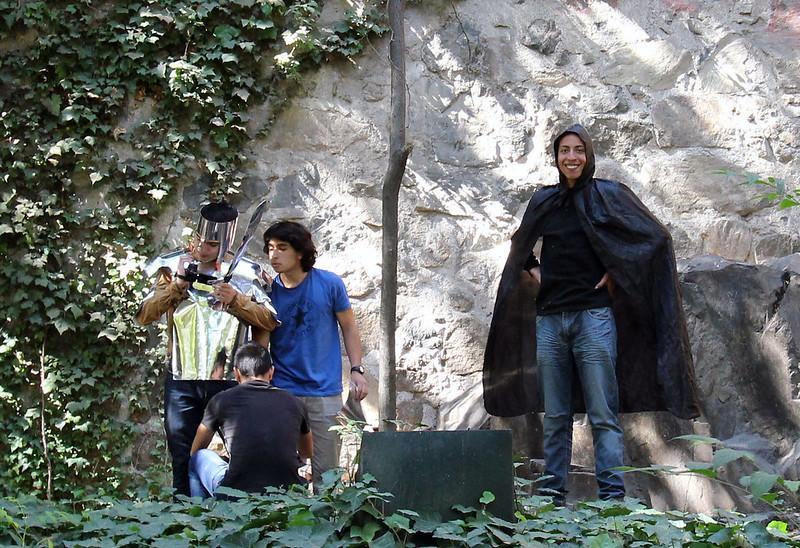 Cerro Sta. Lucia medieval costume